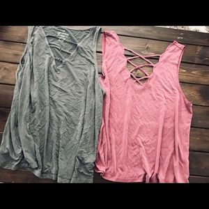 Cute American Eagle tanks